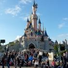The Disney Castle (a tremendous show at night!)