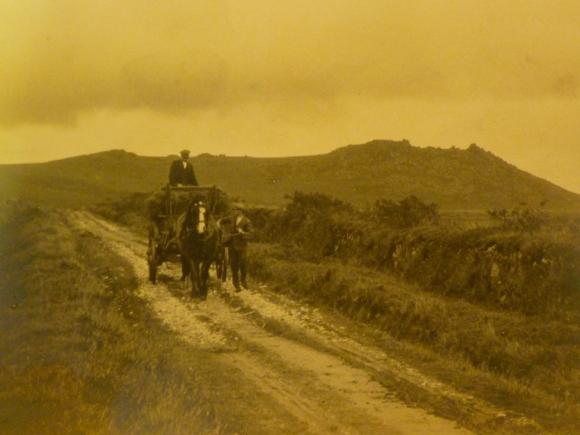 Richard Webber of Poldhu Farm, Roughtor. Bodmin Moor, Cornwall 1861-1943