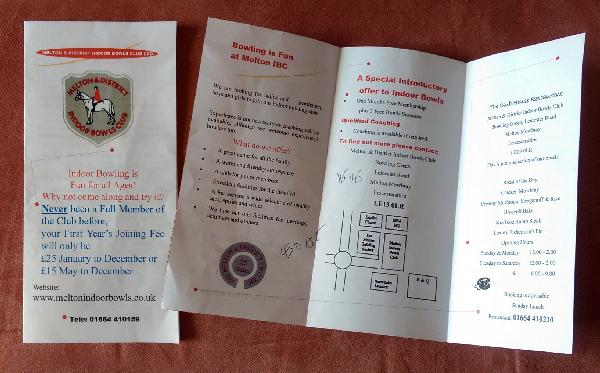 old leaflet