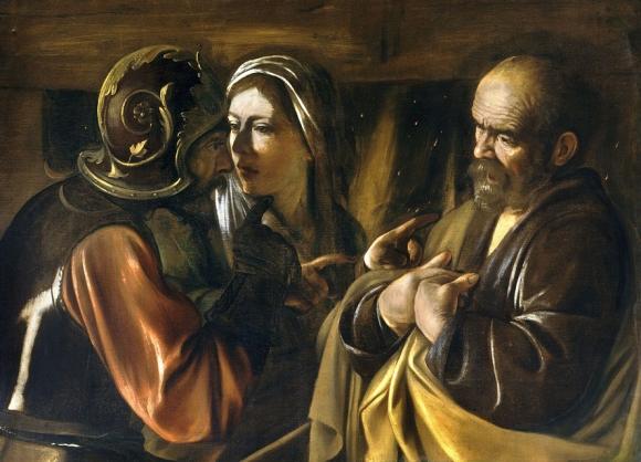 TheDenialofSaintPeter-Caravaggio1610